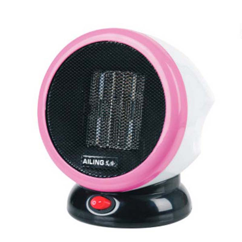 Portable Personal FTC Ceramic Space Heater Electric 220V 500W Warm Winter Mini desktop Fan Heater Forced Home Applicance Free