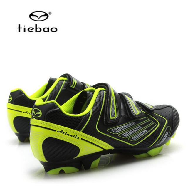 Sapatilha ciclismo mtb Tiebao Ciclismo Sapatos 2018 homens bicicleta mountain bike Sapatos de rua sapato feminino Bicicleta as sapatilhas das mulheres
