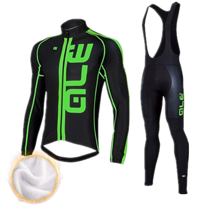 2016 ALE cycling suit winter warm wool long sleeve riding Ropa Maillot Ciclismo bike mountain bike outdoor sports clothing