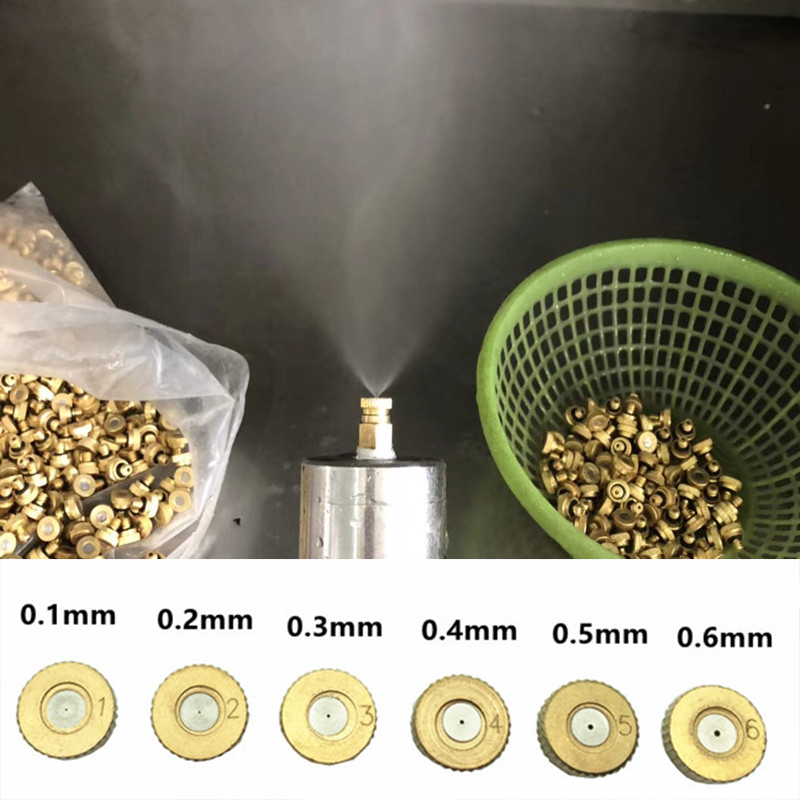 Back To Search Resultshome & Garden Purposeful A122 20pcs/lots Brass Misting Nozzles Water Mist Nozzle 0.1mm-0.6mm 10/24unc 1/4 Spray Nozzles 0.1mm Orifice Mist Nozzle Spray Be Shrewd In Money Matters Sprayers