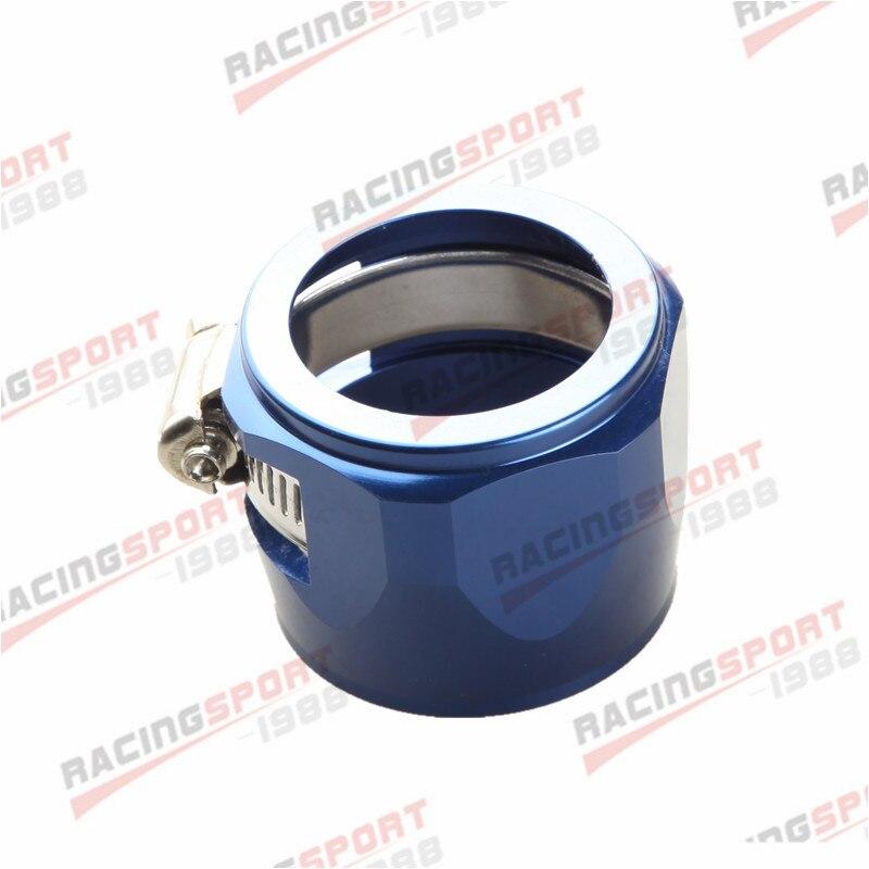 24AN 24AN AN24 с шестигранной отделочники зажимы для топливного шланга Алюминий - Цвет: blue