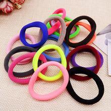 50 pcs lowest price Girl Elastic Hair Ties Band Rope Ponytail Bracelet Levert Dropship AU04