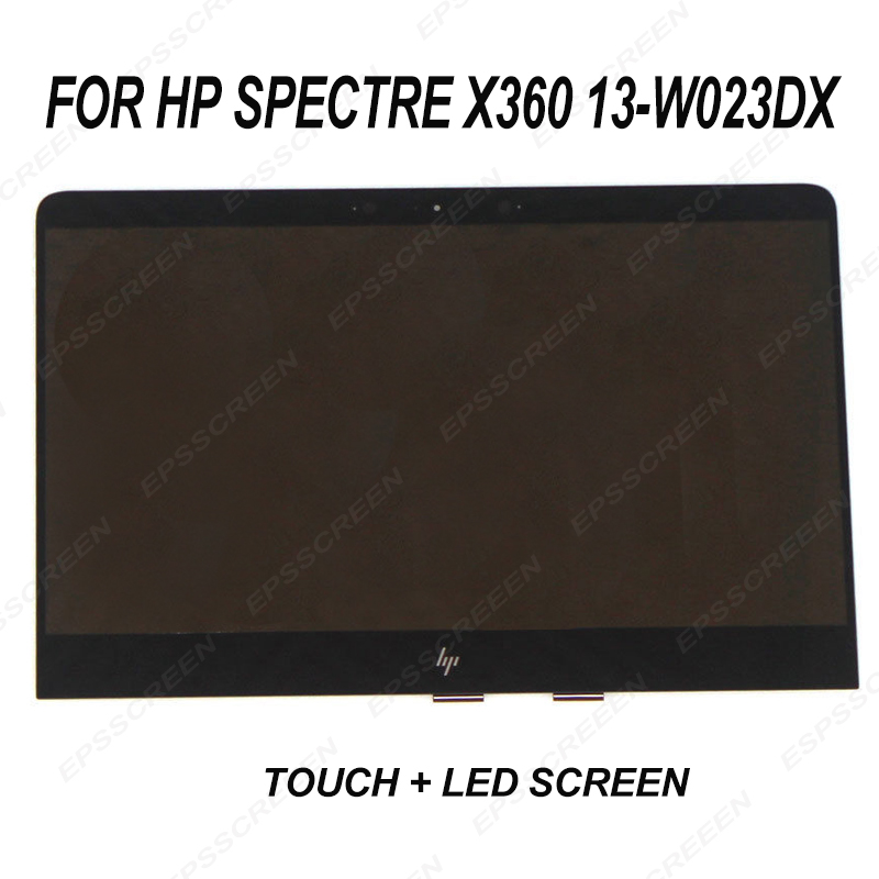 Per HP Spectre X360 13-W023DX Convertibile Lcd Touch Assemblea di Schermo di 907334-001 digitizer pannello con display a led anteriore in vetroPer HP Spectre X360 13-W023DX Convertibile Lcd Touch Assemblea di Schermo di 907334-001 digitizer pannello con display a led anteriore in vetro