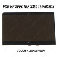 for HP Spectre X360 13 W023DX Convertible Lcd Touch Screen Assembly 907334 001 digitizer panel with led display front glass