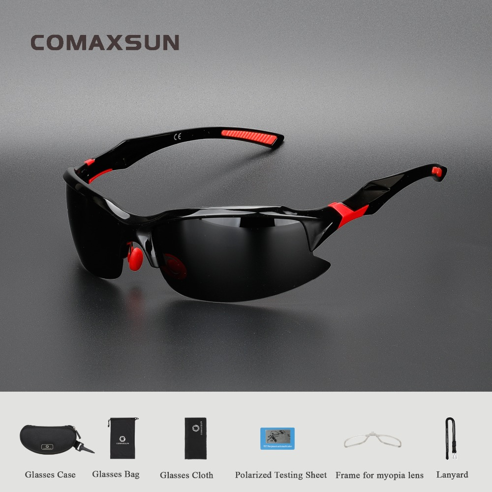 COMAXSUN Professional Polarized Cycling Glasses Bike Bicycle Goggles Driving Fishing Outdoor Sports Sunglasses UV 400 94uExwH634