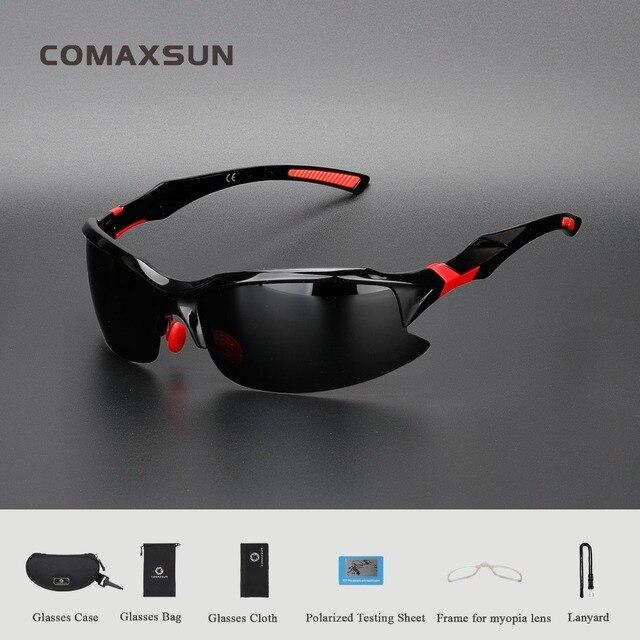 7a7365333c COMAXSUN profesional polarizado gafas ciclismo bicicleta gafas de conducir  pesca deportes al aire libre gafas de