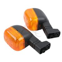Motorcycle Orange Clear Front Rear Turn Signals For BMW F650GS DUCATI 748 916 97 99 98
