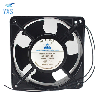G121038-2B AC 220V-240V 18W 50/60HZ 12038 12CM 120*120*38mm Welding Machine Torch Axial Cooling Fan