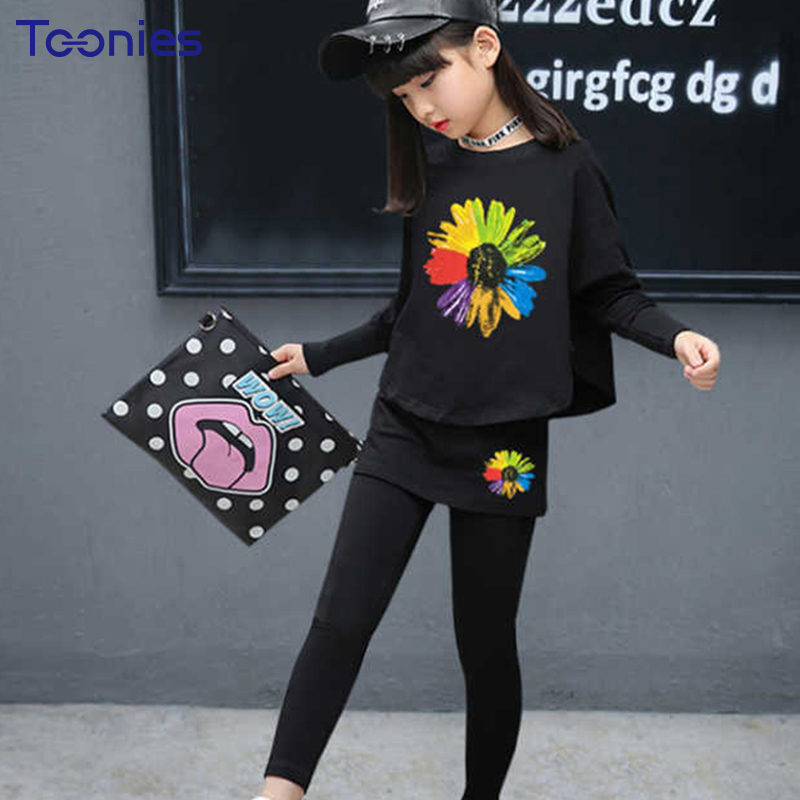 Children Sportswear Spring Autumn Pants Suits for Girls Long Sleeve Chid Clothing Sets New Fashion School Uniform Girl Suit 2pcs 2017 spring autumn children girls set new brand fashion solid shirts cotton pants 2 pieces suits casual kids clothing sets hot
