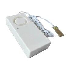 1 шт. Сигнализация утечки воды Уровень потока детектор перелива датчик оповещения домашней безопасности сигнализация утечки сигнализации детектор