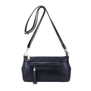 Image 5 - fashion women shouler bag genuine leather handbag female casual small crossbody bags cowhide leather bags