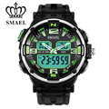 SMAEL Brand Watches Men Dual Time Wristwatch Militray Watch Waterproof LED Digital Watch Sport Casual Watch Men Clock WS1360