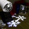 Снежинка Лампы Проектора Лампы Освещения Рождества Игристые Водонепроницаемый Декор Прожекторы Сад Дерево Стены Украшения Праздника