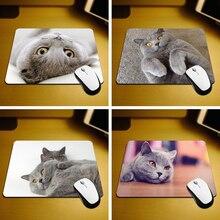 MaiYaCa British Shorthair Cat Mouse Pad Size 18*22cm and 25*29cm