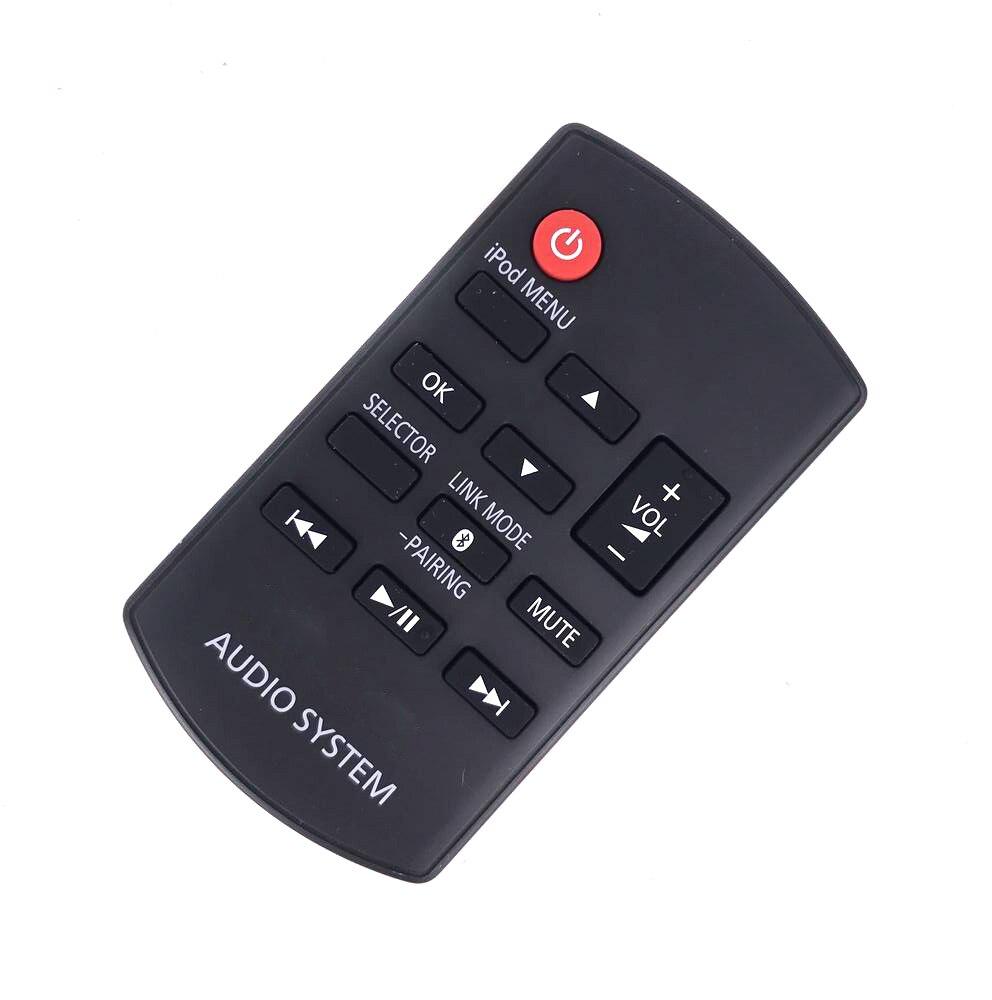 цена на New For Panasonic RAKSC989ZM SC-HC05 SA-HC05 Bluetooth Sound System Dock RAK-SC989ZM Audio System Remote Control