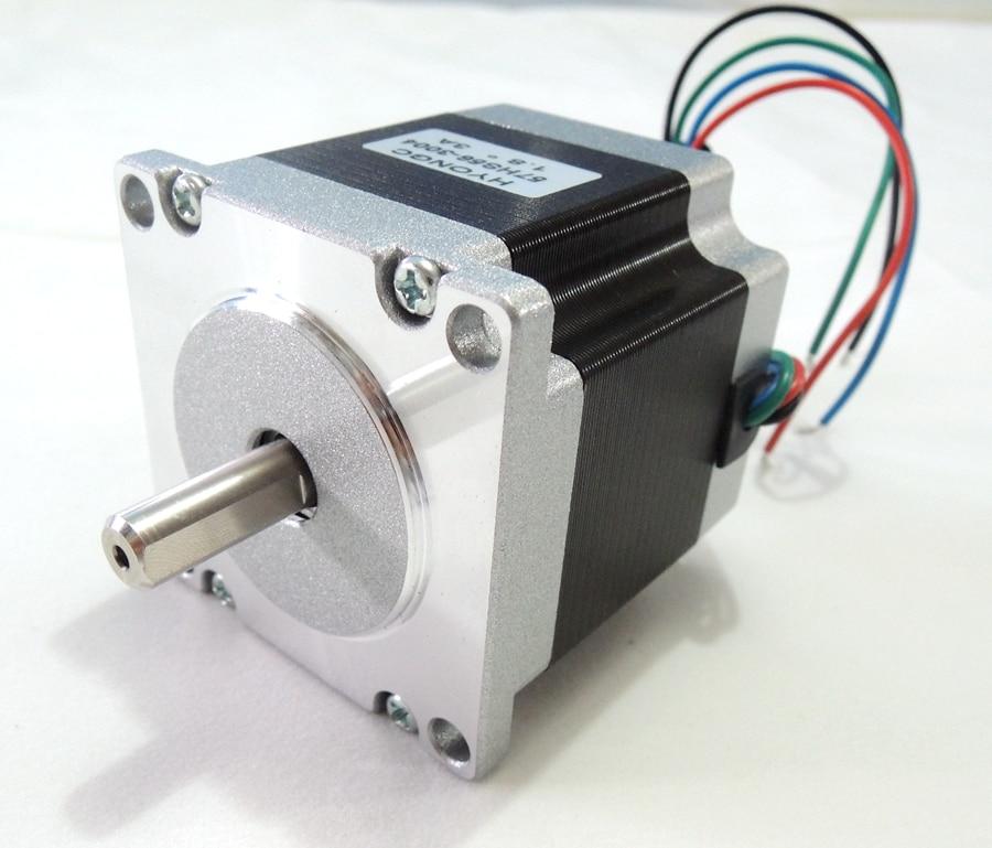 NEMA23 moteur pas à pas 57x56mm 4-plomb 3.0A 1.2N.m/Nema 23 moteur 56mm 170 oz-in pour imprimante 3D pour CNC gravure fraiseuse