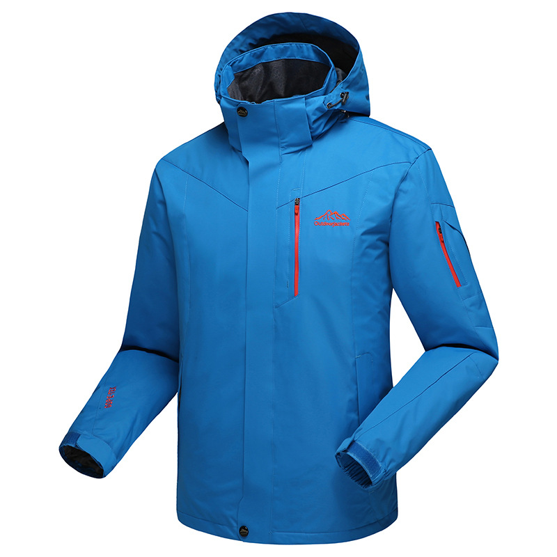 New outdoor men's off-road series single layer winter cashmere men's sports and leisure hiking jackets