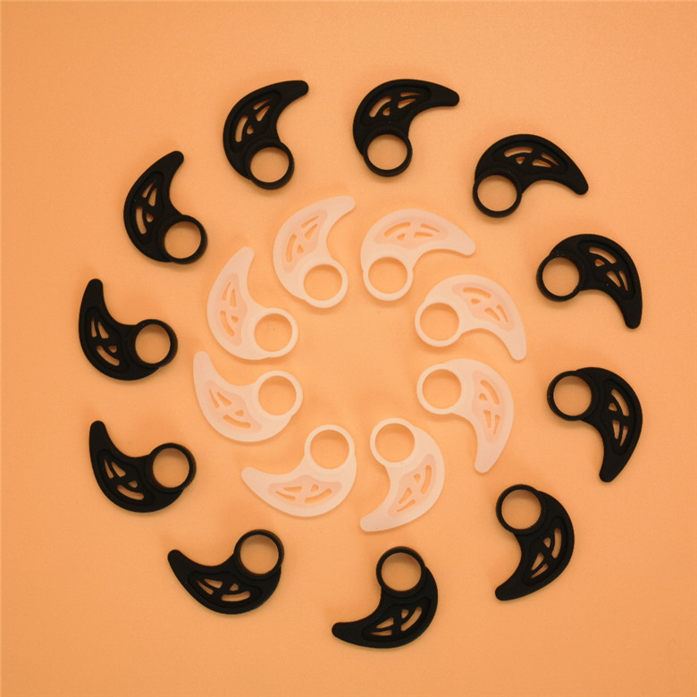 12pcs/6pairs Universal Silicone Earphone Clip Hook Earhook Headphone Ear hook hanger for Silicone bracket horn sports earhooks