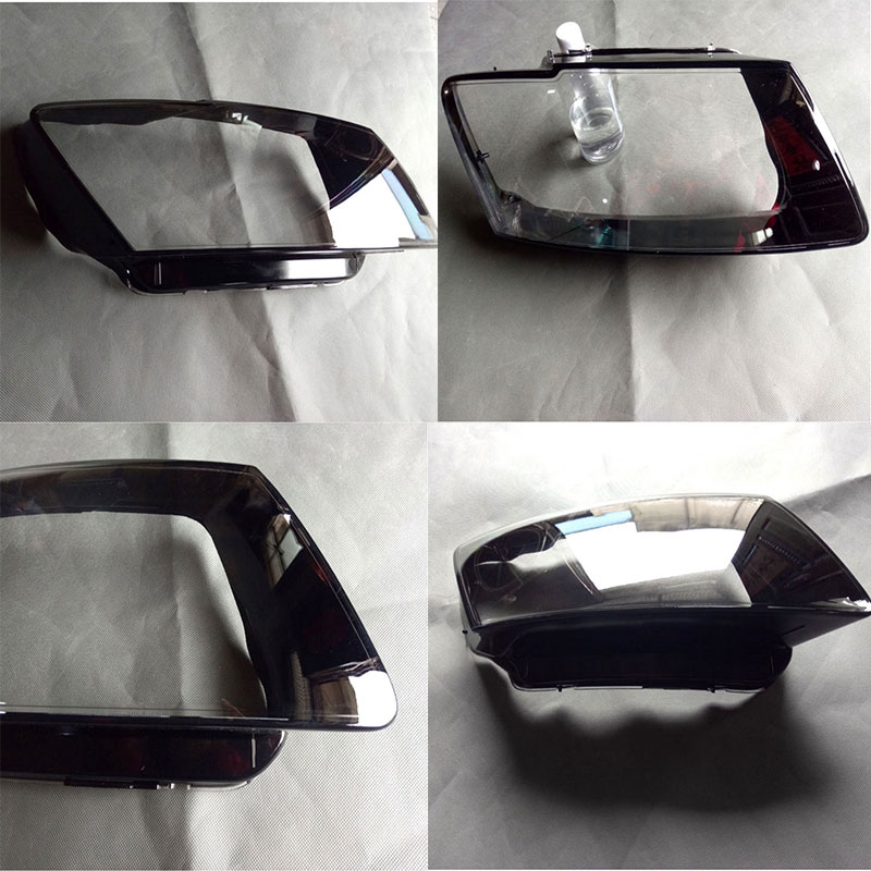 Front headlights headlights glass lamp shade shell lamp cover transparent masks for audi Q5 2010 2013