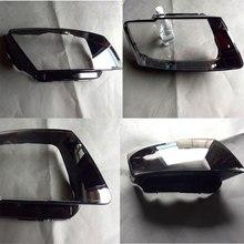 Передние фары, фары, стеклянная лампа, абажур, крышка лампы, прозрачная маска для audi Q5 2010-2013