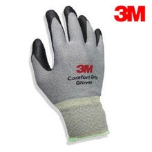 3M Work Gloves Comfort Wear-resistant Slip-resistant Gloves Anti-labor Safety Gloves Nitrile Rubber Gloves Large Size G9311