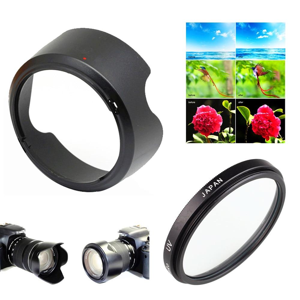 58mm Lens Filter Accessory Kit for Canon EOS T7 T100 1500D 2000D 3000D 4000D