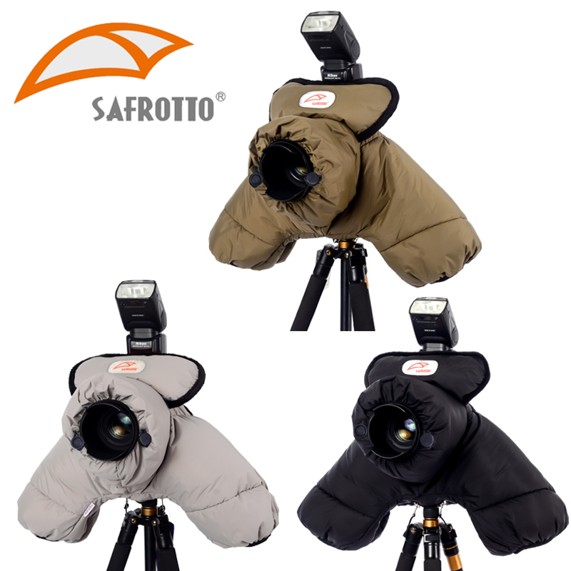 Safrotto Professional Good Quality Photographic Accessory DSLR SLR Cold Proof Protector Cotton Keep Warm Waterproof Camera
