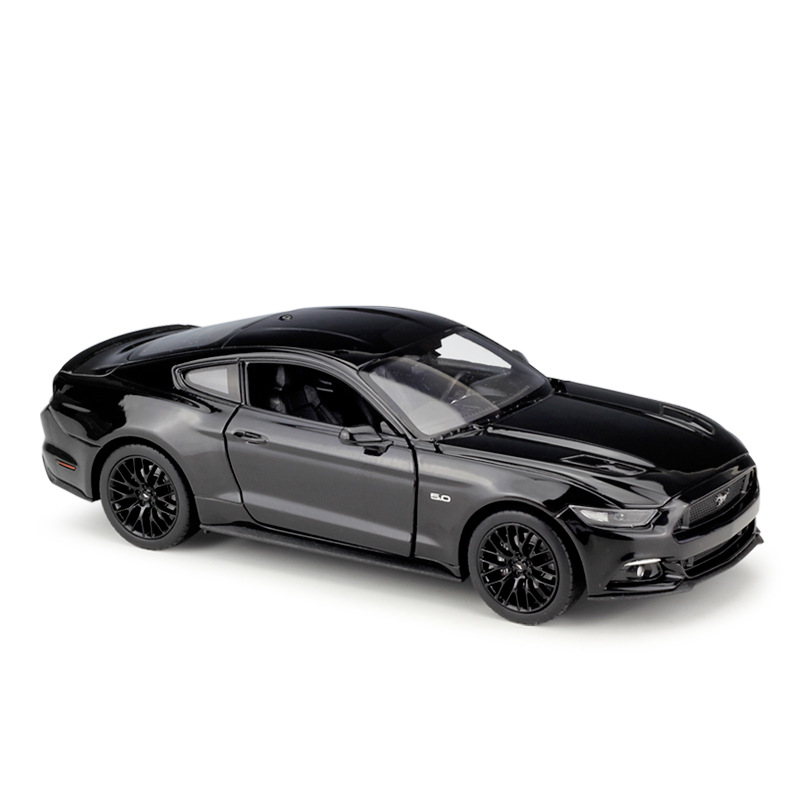 1:24 Simulation alloy sport car model toy For Mustang GT 2015 with Steering wheel control front wheel steering toy for Children1:24 Simulation alloy sport car model toy For Mustang GT 2015 with Steering wheel control front wheel steering toy for Children