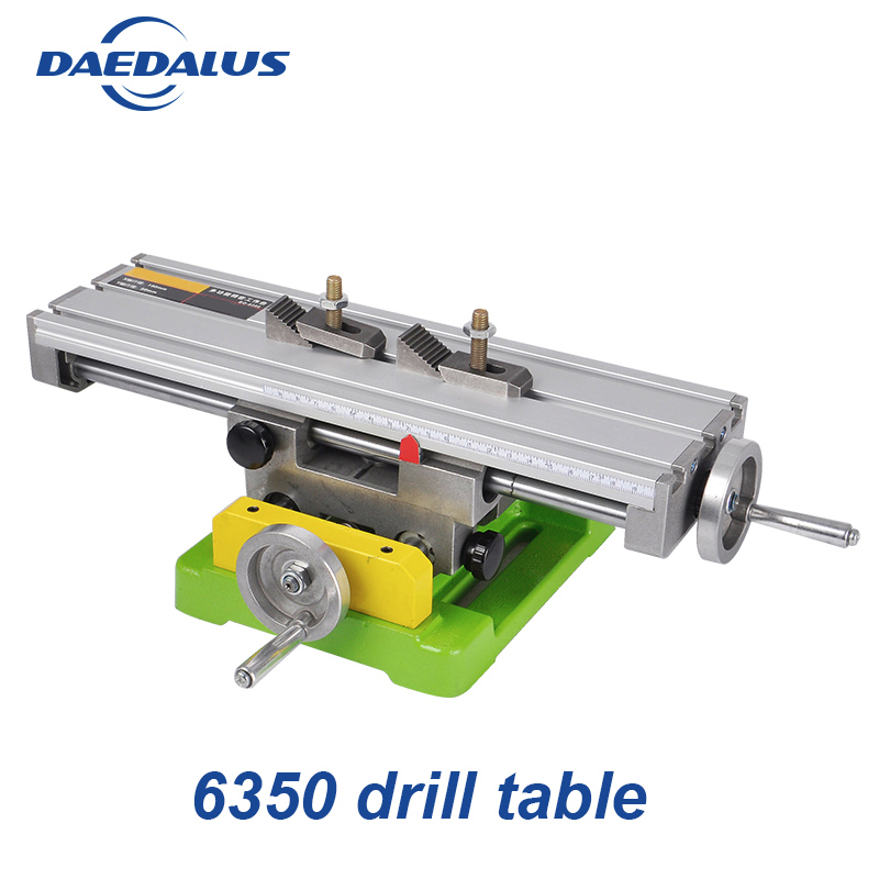 Precision X Y Compound Slide Drill Table Milling Cross Bench Vise BG 6350 Worktable Fixture Drilling