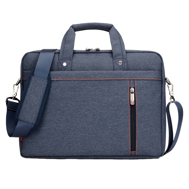 13 Inch big size Nylon For Computer Laptop Solid Notebook Tablet Bag Bags Case Messenger Shoulder unisex men women Durable Blue