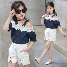 a23bcd44ea70c Buy little girl off shoulder top and get free shipping on AliExpress.com
