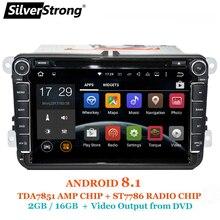 SilverStrong Android8.1 Car DVD for Volkswagen Golf mk6 5 Polo Tiguan Passat B6 5 cc for skoda octavia fabia 801×3