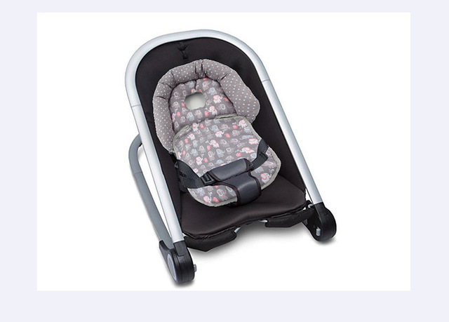 Baby Stroller Shape Cushion Rocker Safety Seat Newborn Neck Support Prevent Flat Head Pram Heardrest Pad