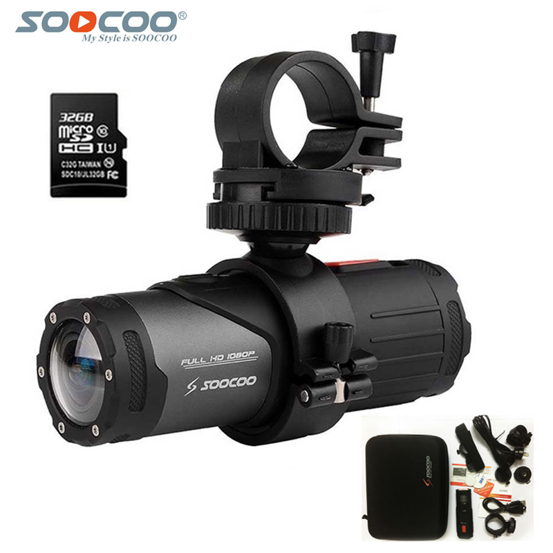 Original SOOCOO Action Camera S20WS Full HD 1080P Wifi Waterproof 10M Bicycle Cycling Helmet DV Outdoor Sport Camera