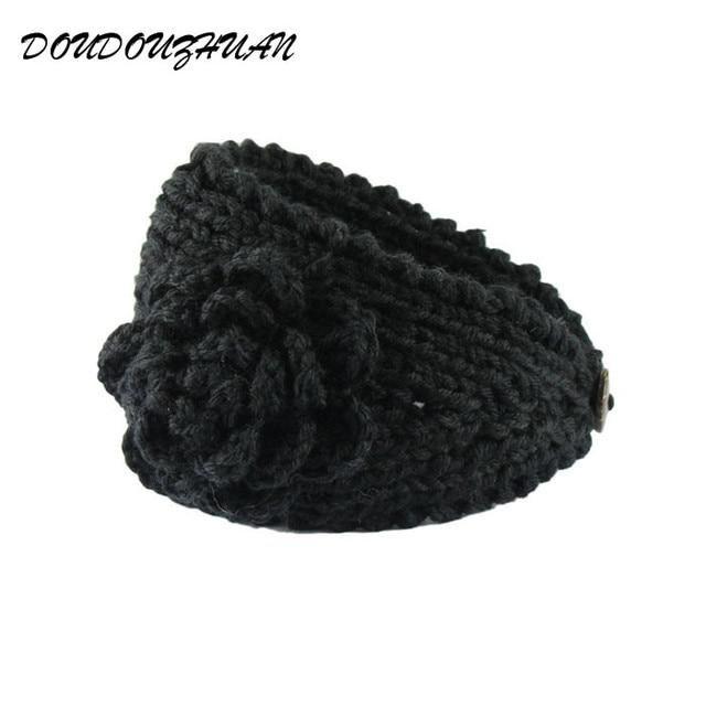 Fashion Fabelhafte Headwear Frauen Mädchen Häkeln Haarband Knit ...