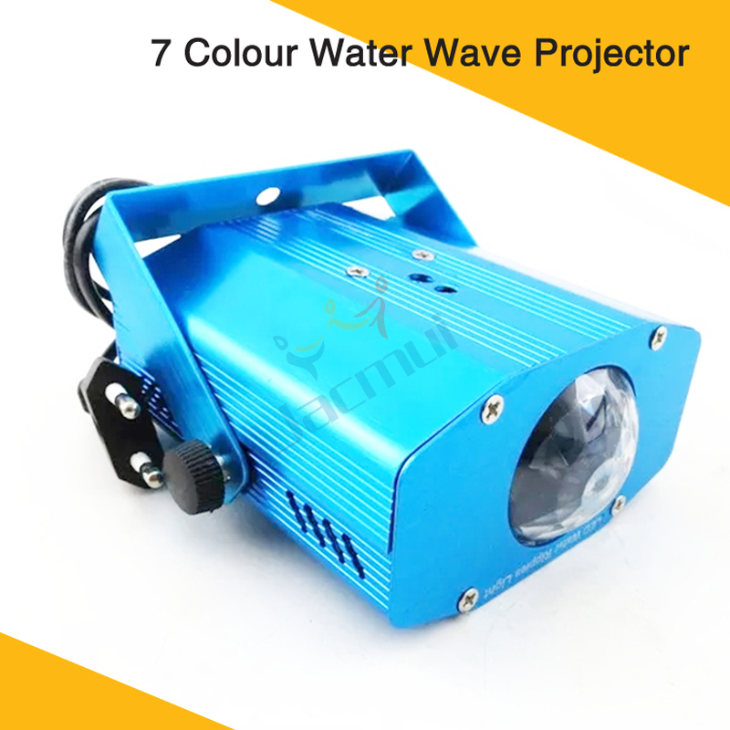 3W Led Ripple Projector Ocean Wave Led Water Wave Stage Light Single Color Light Effect For Ktv Wedding Home Party Event3W Led Ripple Projector Ocean Wave Led Water Wave Stage Light Single Color Light Effect For Ktv Wedding Home Party Event