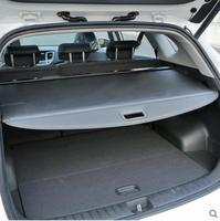 JIOYNG For Car Rear Trunk Security Shield Cargo Cover Fit For Ford S MAX SMAX High quality (black beige)