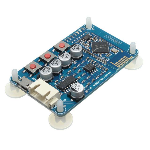 CSR8635 5 V DC Sem Fio Bluetooth 4.0 Receptor De Áudio Estéreo Placa Amplificador Digital Com Porta USB Frete Grátis