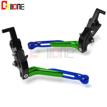 Motorcycle Accessories CNC aluminum adjustable Motorcycle brake clutch levers For Honda CB1 CB400F CB 1 CB400 F 400F 1989-1991