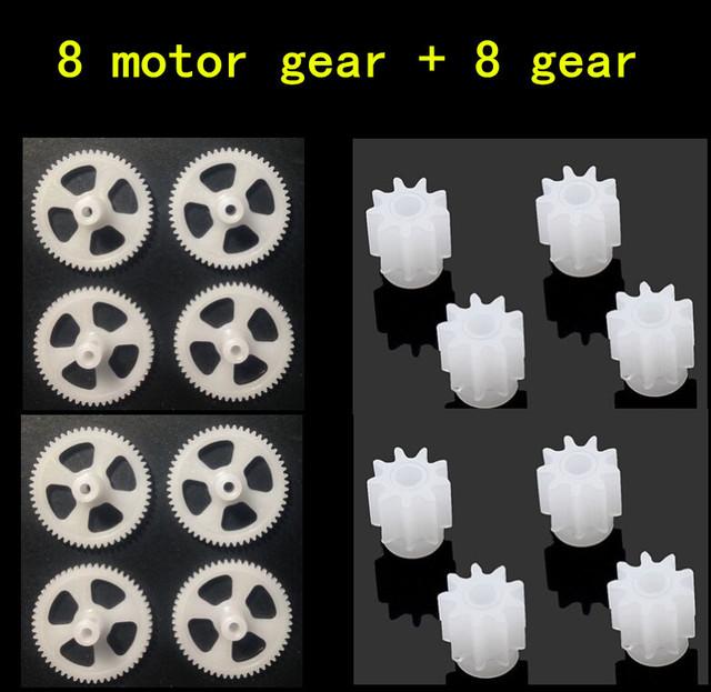 White Plastic Motor Tools