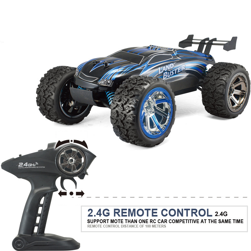 4WD 45km/h High Speed RC Car Remote Control Cars Toys RC Rock Crawler Off Road Dirt Toys Truck Big Wheel Car Toy for Kid Gifts mini rc car 1 28 2 4g off road remote control frequencies toy for wltoys k989 racing cars kid children gifts fj88