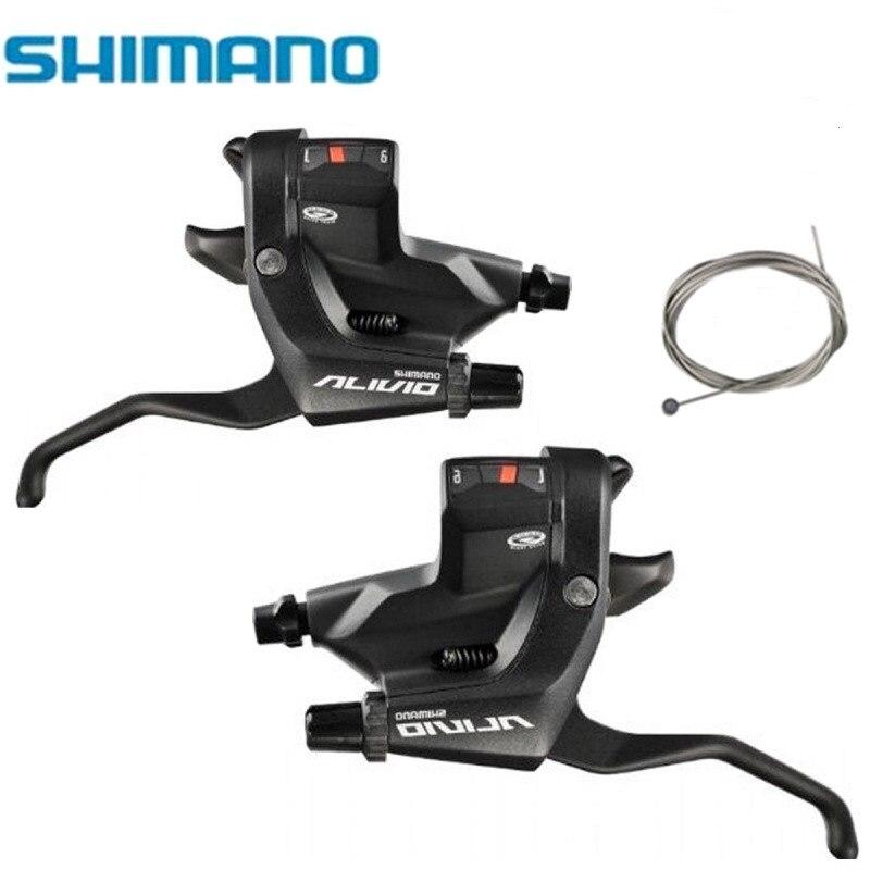 Shimano Alivio st-m430 right 9 x 3x9 Brake Lever Shifter Rapidfire Black