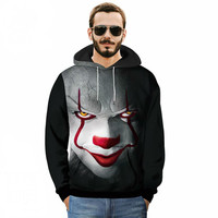Anime Sweatshirts Voltron Rance Cosplay Halloween carnival men  Costume  Devil clown Winter 3D Printing  Hooded