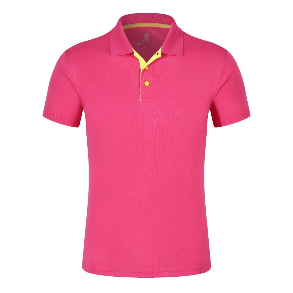 BINYUXD summer Men's t shirt Brand Quick-drying Fashion Splice lapel men woman tshirt business casual teen Male T-shirt tees