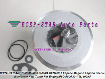 Turbo Cartridge Chra GT1544S 700830 700830-0003 700830-0001 Turbocharger untuk Renault Espace Megane Laguna Indah F8Q F9Q730 1.9L