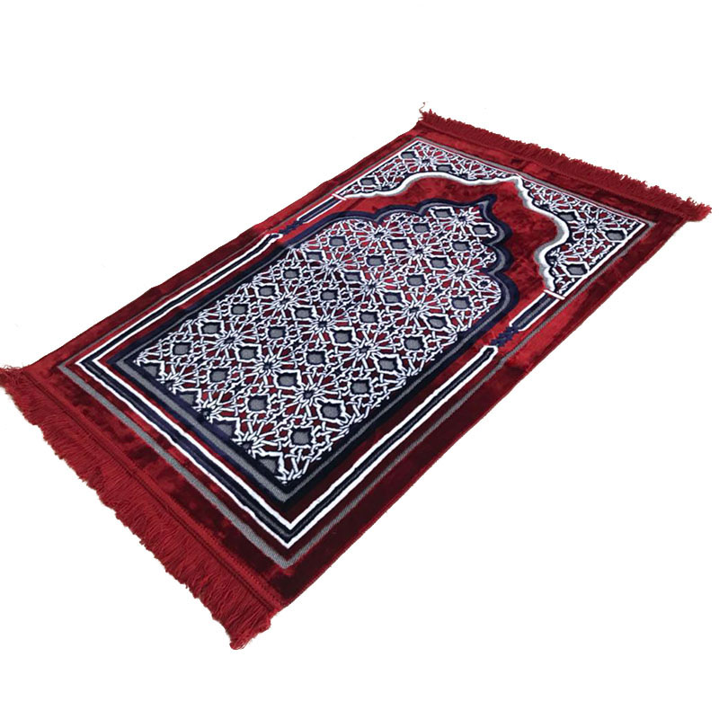 Ic Muslim Prayer Mat Pilgrimage