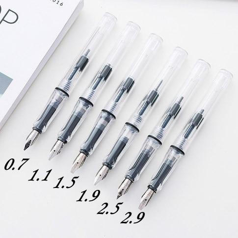 Transparent Classic Pen Student Practice Parallel Art Calligraphy Fountain Pen