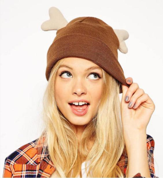 Sombrero del invierno mujeres 2014 gorros de abrigo marca moda astas ...