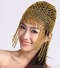 Tassel Cap Dance Hair Accessory