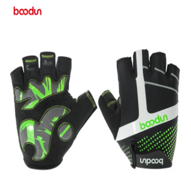 BOODUN New pattern Mountain bike Riding glove Shock absorption Non-slip outdoors motion Mountaineering Comfortable Ventilation